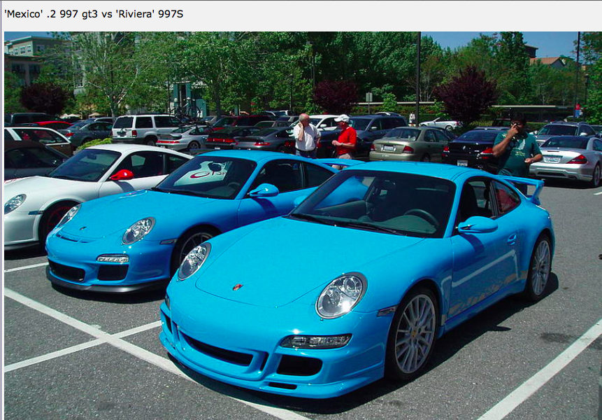 The Best Porsche Mexico Blue