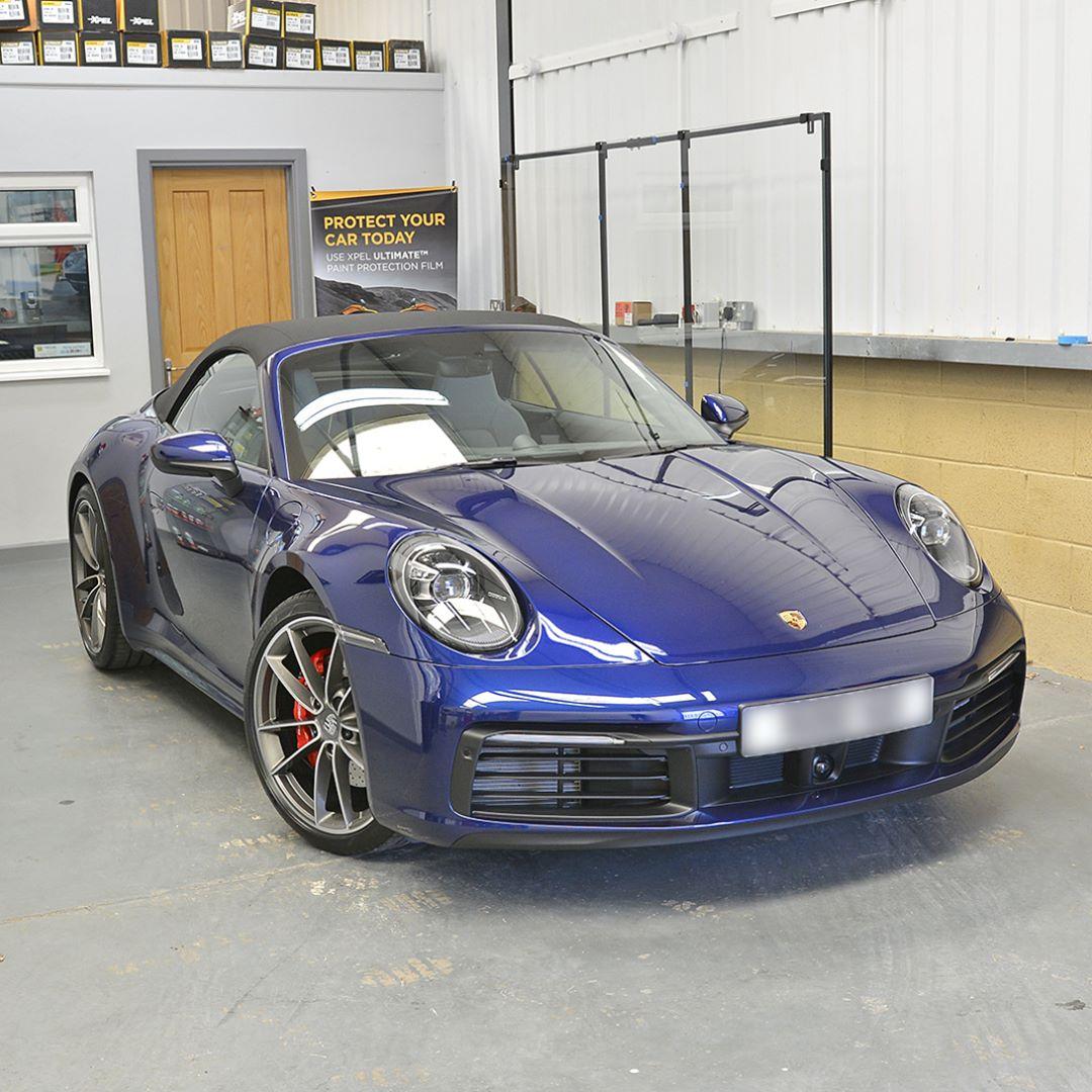 Gentian Blue Metallic Porsche Colors